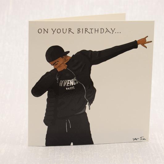 s18lu02 on your birthday � bdi black greeting cards